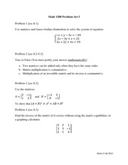 Homework5-matrices