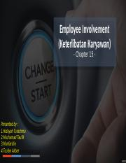 Ch 15 Employee Involvement (kelompok 4).pptx