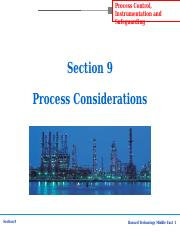 section-9 process considerations.ppt