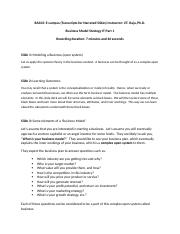 Business Model_Strategy_IT_Part 1.docx