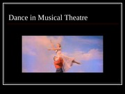 Dance in Musical Theatre(1)(1)