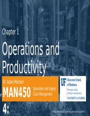 MAN 4504 Ch01 Operations and Productivity 1_15