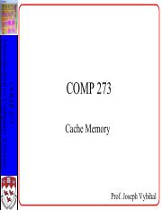 COMP 273 Lecture 21 - Cache + Performance.pdf