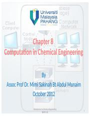 Chapter 8_Computation in chemical engineering.pptx