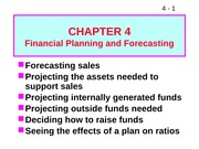 ffm904 Financial Planning and Forecasting