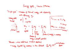 8 - Energy Cycle, Lawson Criterion