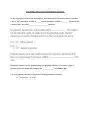 804a Parametric Equations.docx