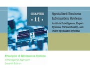ch11 Specialized Business Information Systems