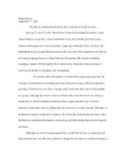 Delta Epsilon Psi Intro Essay