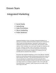 Intergrated Marketing.docx