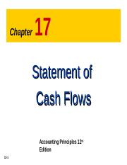 chapter 12 the statement of cash