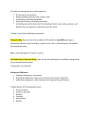 principles of selling ch 1 notes