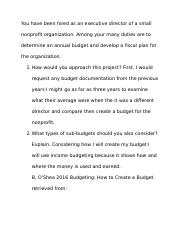 Unit 2 DB Budgeting.docx