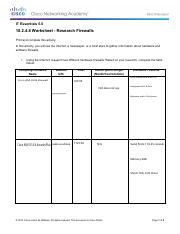 10.2.4.8 Worksheet - Research Firewalls.pdf