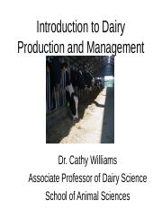 ANSC 1011 Intro to Dairy Production and Management Fall 2012 no photos (1).ppt