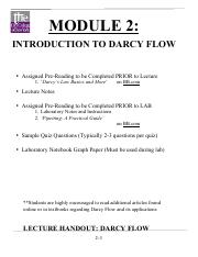MODULE 2 DarcyFlow 2017 Lecture Notes RJM.pdf