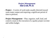 3 LECT NOTES (Project Management)-ch 16