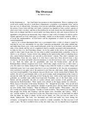 The namesake study notes