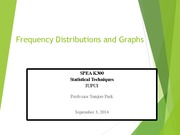 Frequency Distributions Lecture Slides