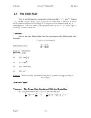 Calculus Notes 7E 3.4