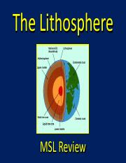Lithosphere.pdf MSL Review