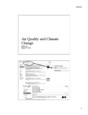 climate and AQ