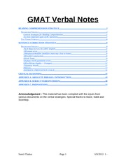 GMAT_Verbal_Notes_By_Sumit