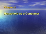 Chapter 2 Household as a Consumer