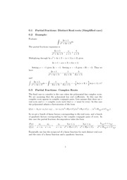 MATH231 Lecture Notes 1