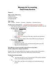 ACCT Final Review getstudy