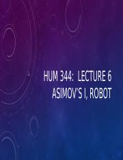 HUM344Lecture6Asimov1BBPowerpoint(1)