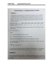 Problems Sheet for Interphase Mass Transfer - CHET 402.pdf