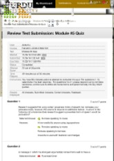 Review Test Submission: Module #5 Quiz – Fall-2014-COM-...