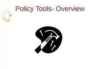 Policy Tools- Overview
