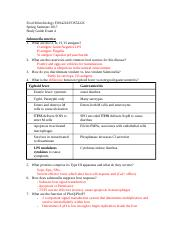 Exam 4 study guide Andy