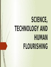 Science, Technology and Human Flourishing.pptx