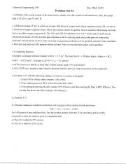 CENG100-ProblemSet2Soln-Fall2014