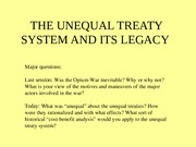 6.+The+unequal+treaties+and+their+legacy+2015.ppt