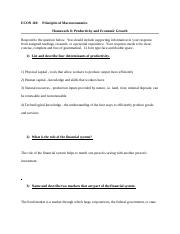 ECON-110-Hw 8_Production  Econ Growth.docx