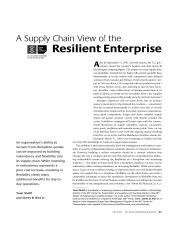 a supply chain view of the resilient enterprise.pdf