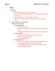 Soc 120-Notes-Race Part 2