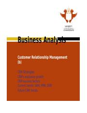 Learning Unit 14 Customer Relationship Management (Part b).ppt