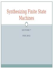 Lecture07_Synthesizing Finite State Machines.pptx