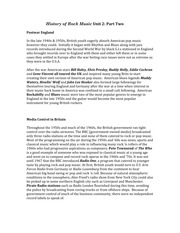 Music_Unit 2 Study Guide Part 2 The British Invasion
