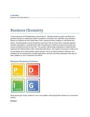 Business Chemistry.docx