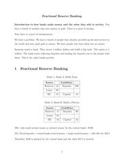 Lecture 1 Notes.Fractional reserve banking