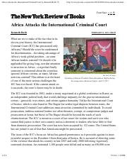 Africa Attacks the International Criminal Court – Kenneth Roth.pdf