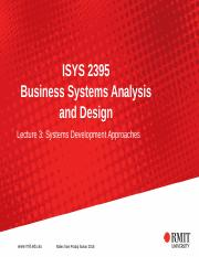 Week 5 5 Ppt Isys 2395 Business Systems Analysis And Design Lecture 5 A More In Depth Examination Of Class And Objects Slides From Pradip Sarkar 2016 Course Hero