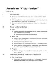 American Victorianism