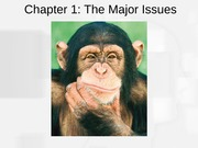 PSYCH2 Chapter1 The Major Issues (2)
